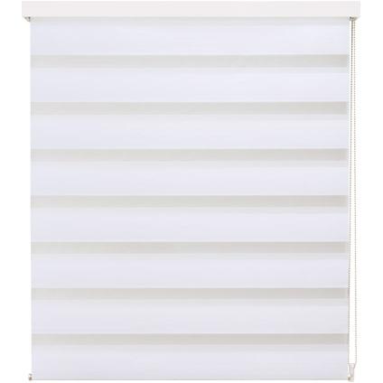 Store jalousie Intensions 'Luxe' tamisé uni blanc 90 x 210 cm