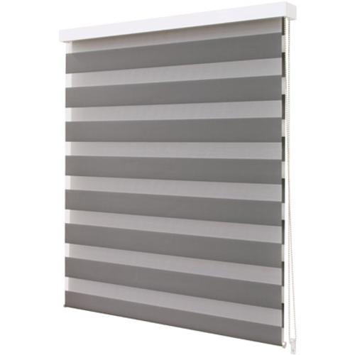 Store enrouleur Intensions 'Luxe' tamisé uni gris foncé 90 x 210 cm