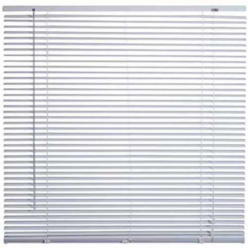 Store Decomode aluminium blanc 80 x 130 cm