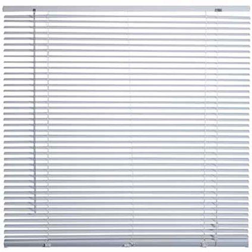 Store Decomode aluminium blanc 120 x 175 cm