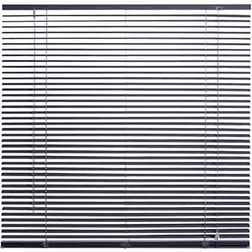 Store Decomode 'Perfo' aluminium gris foncé 80 x 175 cm