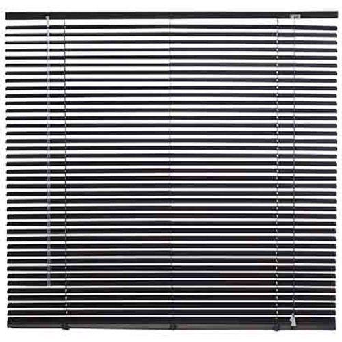 Decomode jaloezie aluminium 25mm zwart 60 x 130cm