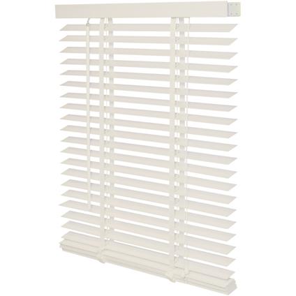 Decomode jaloezie hout 50mm kalk wit structuur 60 x 130cm