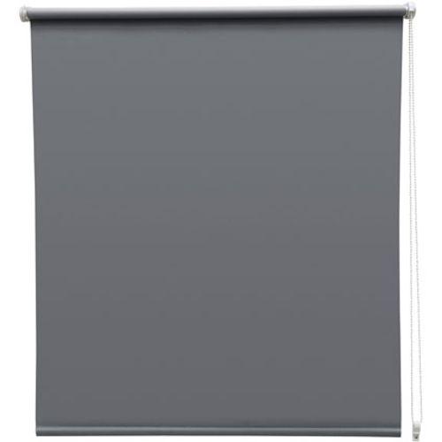 Store enrouleur Intensions 'EasyFix' occultant gris foncé 65 x 170 cm