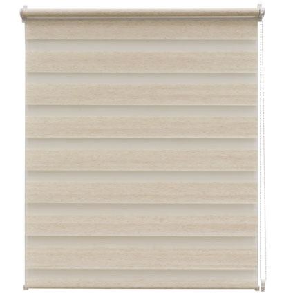 Store enrouleur Intensions 'EasyFix' lin crème 45 x 170 cm