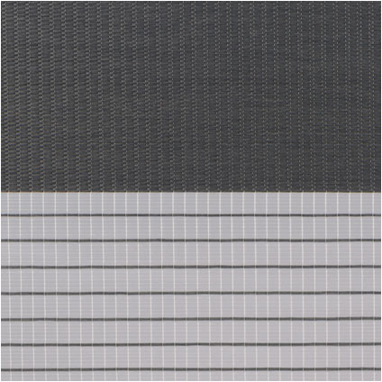 Store jalousie Intensions 'EasyFix' ligné gris foncé 55 x 170 cm