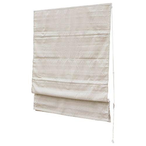 Decomode vouwgordijn lichtdoorlatend structuur crème 180 x 180cm