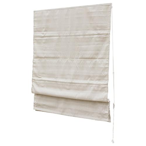 Decomode vouwgordijn lichtdoorlatend creme 180 x 180 cm