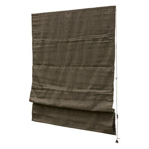 Decomode vouwgordijn lichtdoorlatend structuur blush bruin 100 x 180cm