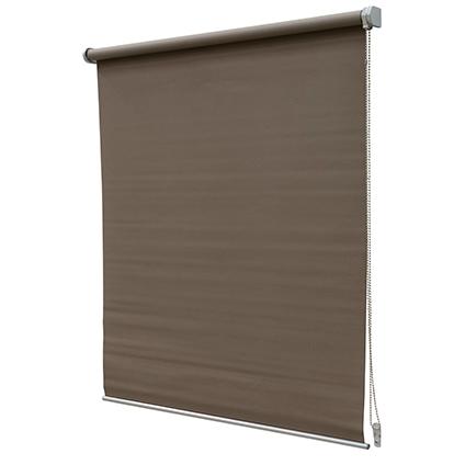 Store enrouleur Intensions 'Luxe' occultant brun clair 80 x 190 cm