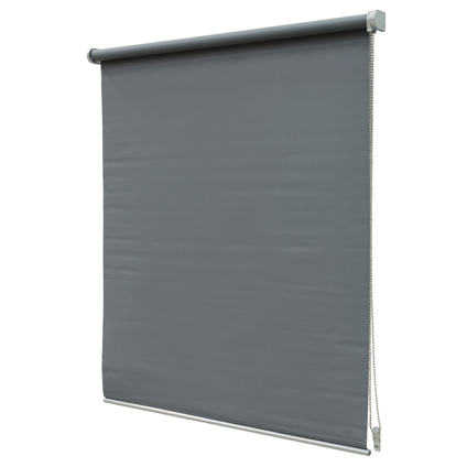 Store enrouleur Intensions 'Luxe' occultant gris foncé 80 x190 cm