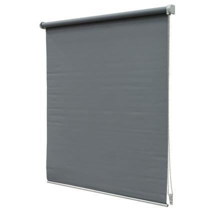 Store enrouleur Intensions 'Luxe' occultant gris foncé 100 x 190 cm