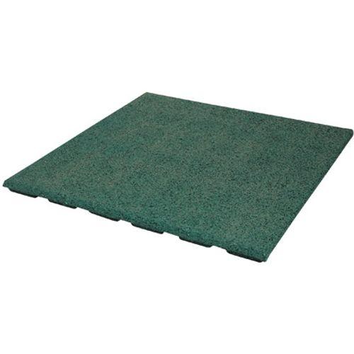 Decor rubberen tegel groen 50 x 50cm 0,25m²