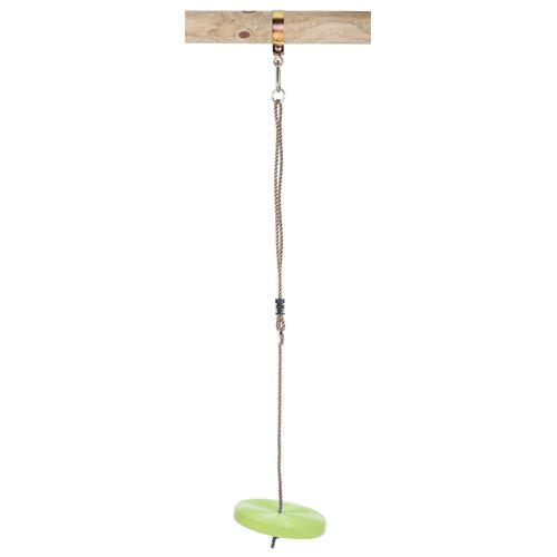 Siège balançoire disque Swing King pvc citron vert