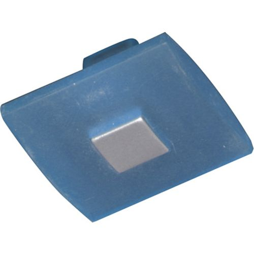 Bouton de porte Linea Bertomani '1453.66' bleu