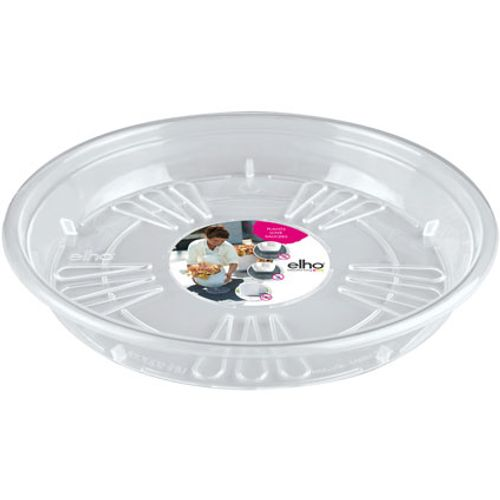 Soucoupe Elho rond transparent 28 cm