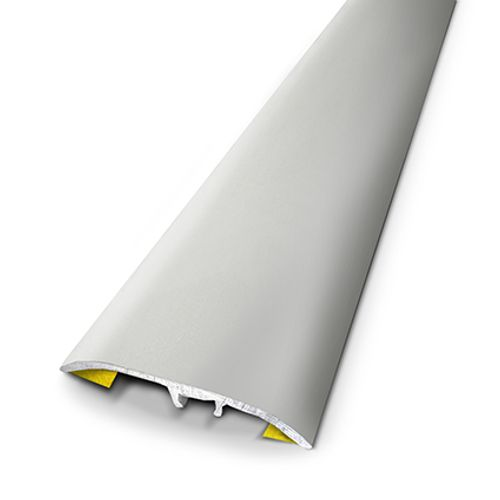 Seuil universel Dinac aluminium naturel 3,7 x 166 cm