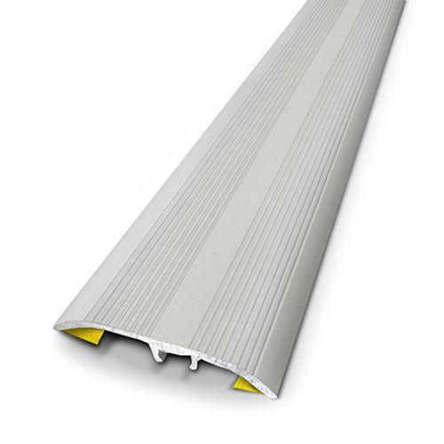 Seuil universel Dinac aluminium naturel strié 3,7 cm