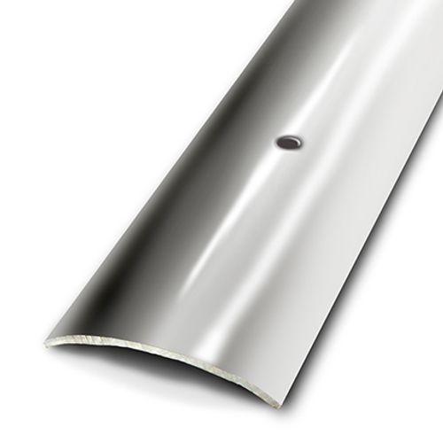 Seuil plat à visser Dinac inox 3 x 166 cm