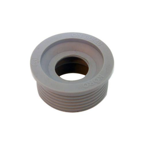 Sencys overgangsrubber grijs Ø 32/40 mm