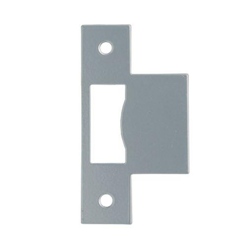 Gâche Sencys pour serrures 'M800/M803/M806' acier peint gris 1 mm