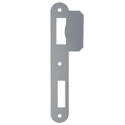 Gâche Sencys pour serrures 'M290/M310/M330/M610/M630/M650' acier peint gris 1 mm