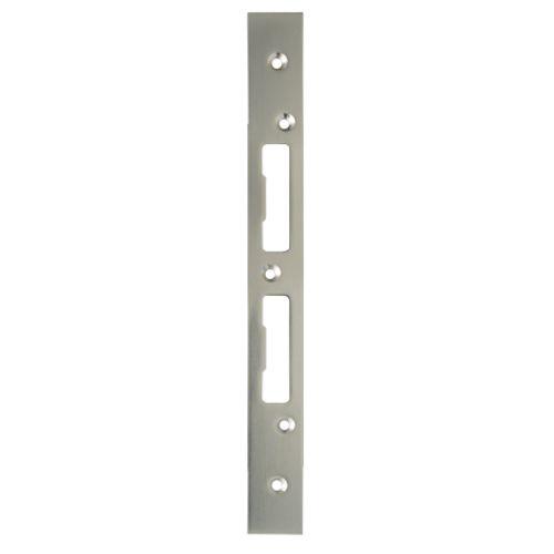 Sencys universeel sluitplaat vernikkeld staal 1 mm