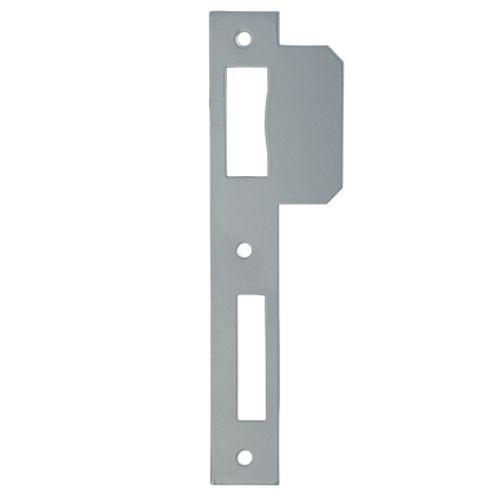 Gâche Sencys pour serrures 'M101/M130/M150/M410/M430/M710' acier peint gris 1 mm