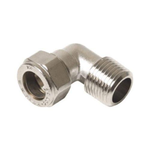 """Plieger knel radiatorkoppeling haaks 1/2""""x15mm in  Gastec / Kiwa"""