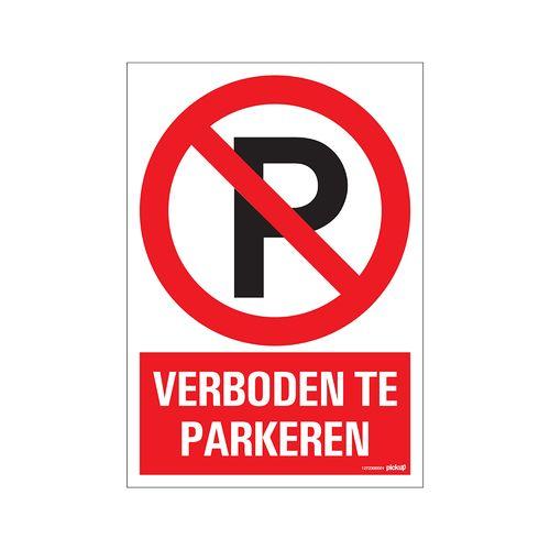 PickUp bord 'Verboden te parkeren'