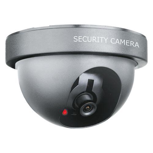 Caméra de surveillance Smartwares fictive 'Dummy - Dome' noir