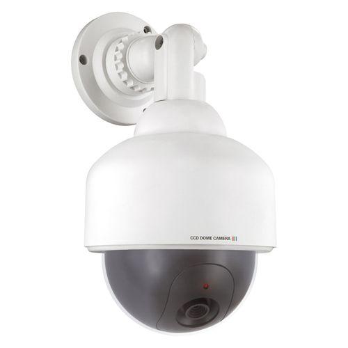 Caméra de surveillance fictive Smartwares 'Dummy - Dome' blanc