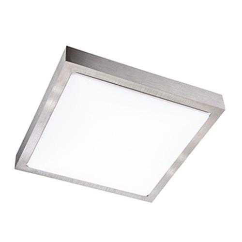 Wofi plafondlamp 'Sana' 1x15W zilver LED