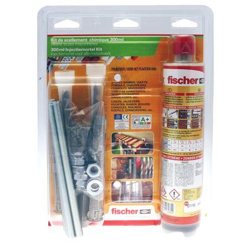 Kit de scellement chimique Fischer 'FISV 300 T'