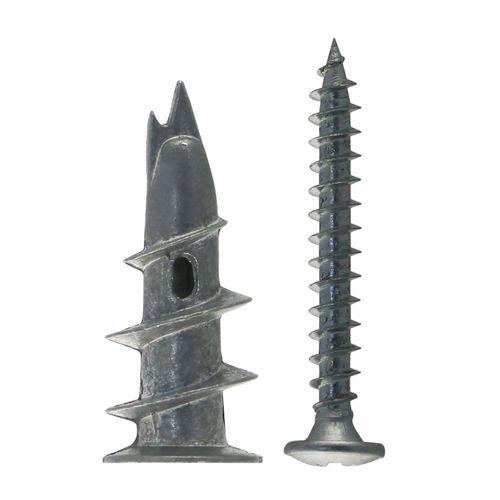 Chevilles auto-perçante pour carton-plâtre Fischer 'GKM' métal avec vis 4,5 x 35 mm - 30 pcs