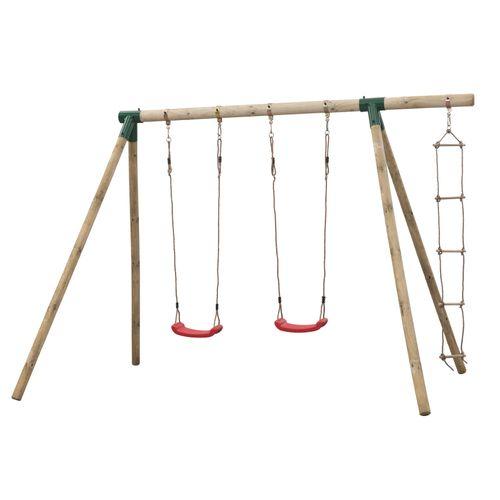 SwingKing schommel Charlotte + touwladder 220x340x220cm