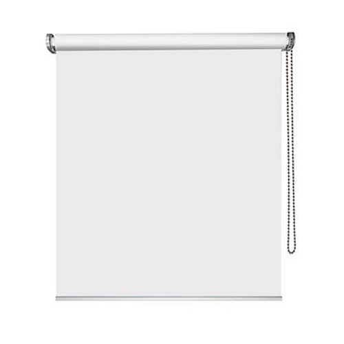 Store enrouleur Madeco 'Must' tamisant motorisable blanc 90 x 250 cm