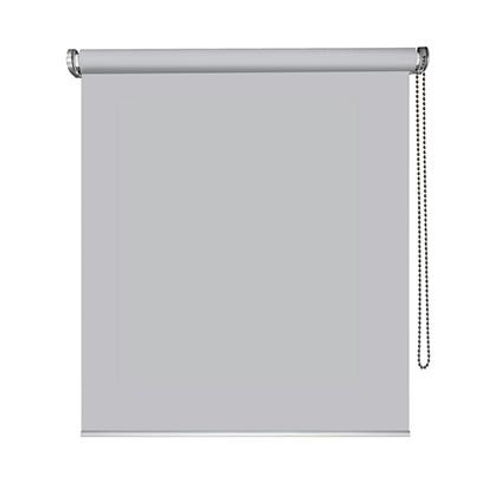 Store enrouleur Madeco 'Must' tamisant motorisable gris clair 100 x 250 cm