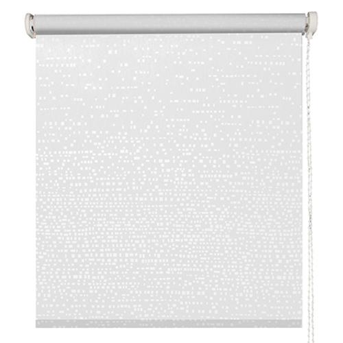 Store enrouleur Madeco 'Manhattan' tamisant motorisable blanc 120 x 190 cm
