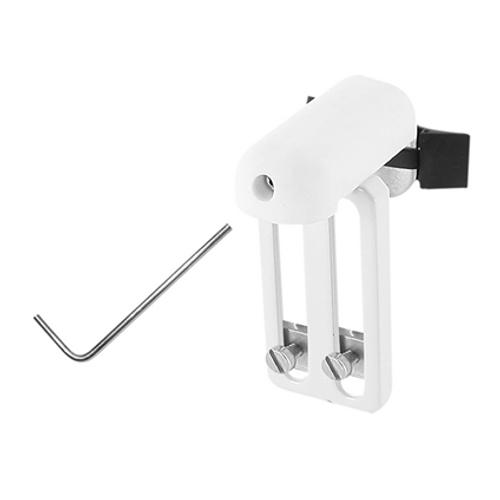 Support de store Madeco 'U16' blanc - 3 pièces