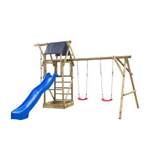SwingKing speeltoestel Niels 380x500x290cm