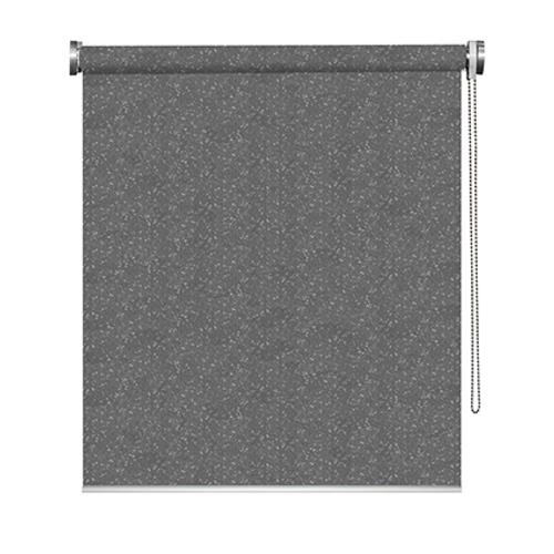 Store enrouleur Madeco 'Must' occultant paillettes gris 80 x 190 cm