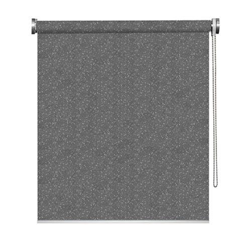Madeco rolgordijn 'Must' verduisterend pailletten grijs 120 x 190 cm