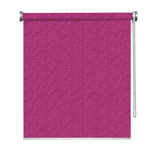 Madeco rolgordijn 'Must' verduisterend rietjes roze 180 x 190 cm