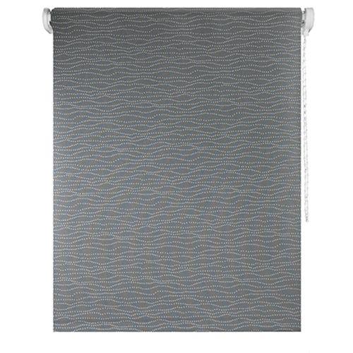 Madeco rolgordijn 'Must' verduisterend rietjes taupe 150 x 190 cm