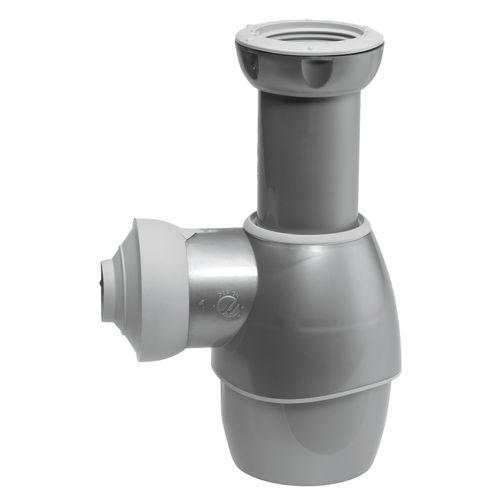 Siphon de lavabo Wirquin universel gris