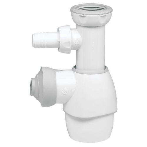 Siphon de lavabo Wirquin universel blanc