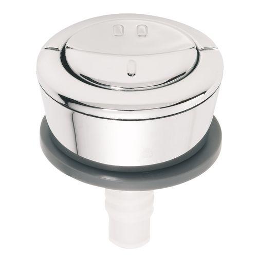 Double bouton-poussoir de WC Wirquin MW2 chromé