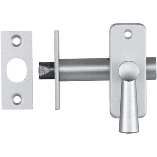 Sencys inboorgrendel+sluitplaat voor buitendeuren 70mm aluminium F1