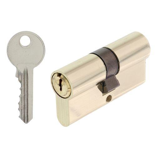 Sencys cilinder voor binnendeur 31-31mm vernikkeld